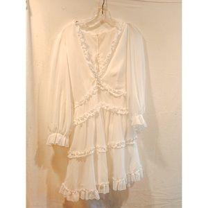 Dresses & Skirts - White Boho Dress